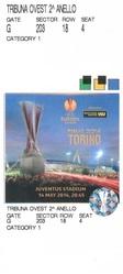 Продаю 1 билет первой категории на Финал Лиги Европы УЕФА - Турин 14/0